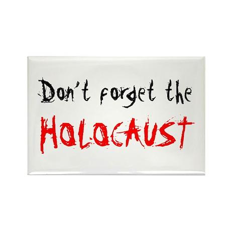 Holocaust Memorial Rectangle Magnet (10 pack)