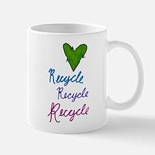 Recycle Heart Mug