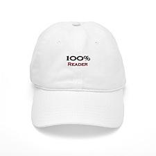 100 Percent Reader Baseball Cap