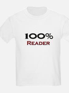 100 Percent Reader T-Shirt