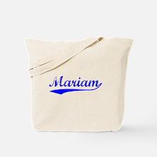 Vintage Mariam (Blue) Tote Bag