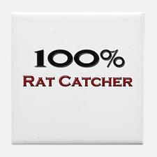 100 Percent Rat Catcher Tile Coaster