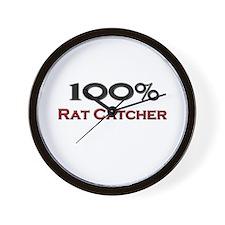 100 Percent Rat Catcher Wall Clock