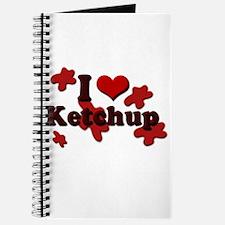 I Love Ketchup Journal