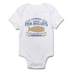 Yummy Fish Biscuits Infant Bodysuit