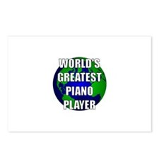 World's Greatest Piano Player Postcards (Package o