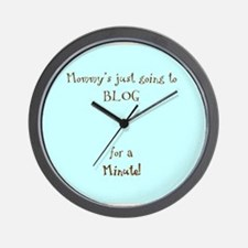 Bloggy Wall Clock