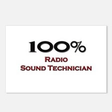 100 Percent Radio Sound Technician Postcards (Pack