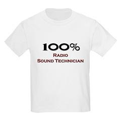 100 Percent Radio Sound Technician T-Shirt