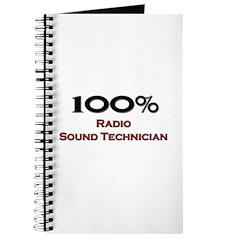 100 Percent Radio Sound Technician Journal