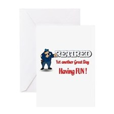 Cops are Tops. Greeting Card