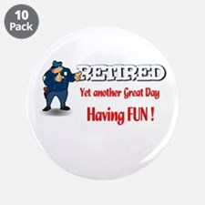 "Cops are Tops. 3.5"" Button (10 pack)"