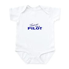 Trust Me I'm a Pilot Infant Bodysuit