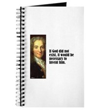 "Voltaire ""God Created"" Journal"