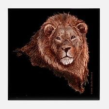 """""""Lion - no verse"""" Tile Coaster"""
