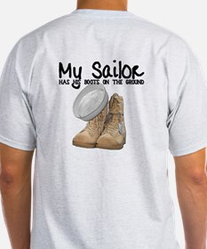 My Sailor Has His Boots on th T-Shirt