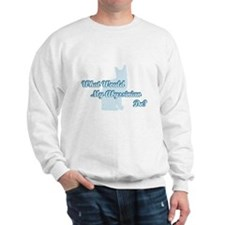 Abyssinian Blue Quote Sweatshirt