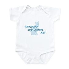 Abyssinian Blue Quote Infant Bodysuit