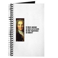 "Voltaire ""So Wise"" Journal"