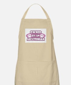 Owned By An Abyssinian BBQ Apron