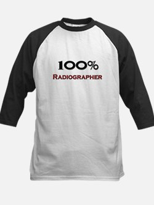 100 Percent Radiographer Kids Baseball Jersey