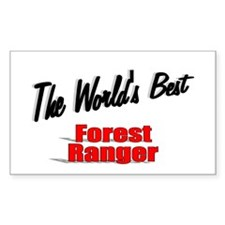 """ The World's Best Forest Ranger"" Decal"