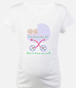 How We Roll Carriage Twins Shirt