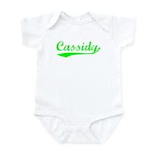 Vintage Cassidy (Green) Infant Bodysuit