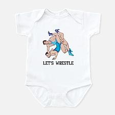 Let's Wrestle Infant Bodysuit