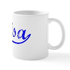 Vintage Marisa (Blue) Mug