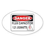 Danger FC Oval Sticker