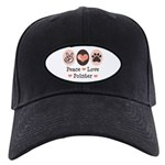 Peace Love Pointer Black Cap