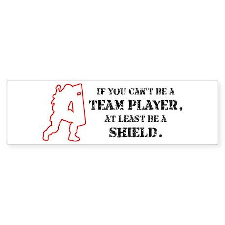 Team Player Bumper Sticker