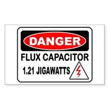 Danger FC Rectangle Stickers