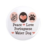 Peace Love Portuguese Water Dog 3.5