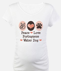 Peace Love Portuguese Water Dog Shirt