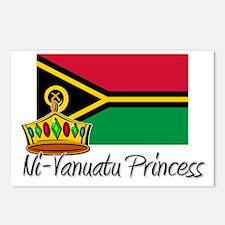 Ni-Vanuatu Princess Postcards (Package of 8)