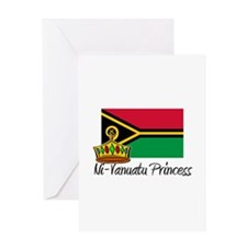 Ni-Vanuatu Princess Greeting Card