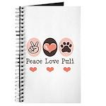 Peace Love Puli Journal