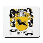 Krieger Family Crest Mousepad
