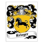 Krieger Family Crest Small Poster