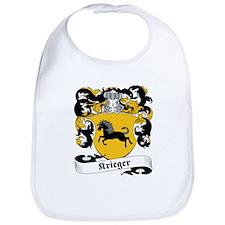 Krieger Family Crest Bib