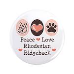 Peace Love Rhodesian Ridgeback 3.5