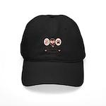 Peace Love Rhodesian Ridgeback Black Cap