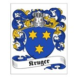 Kruger Family Crest Small Poster