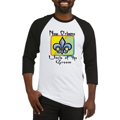 New Orleans Uncle of the Groom Baseball Jersey