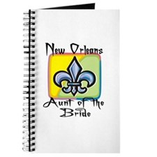 New Orleans Aunt of the Bride Journal