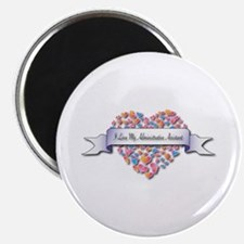 """Love My Administrative Assistant 2.25"""" Magnet"""