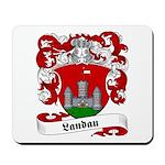 Landau Family Crest Mousepad