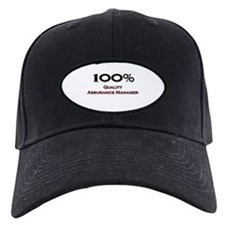 100 Percent Quality Assurance Manager Baseball Hat